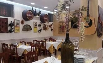 Hotel Malaga di Avellino, una sala