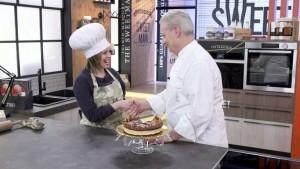 Pizzeria D&D, Alessia Pinto col Maestro Iginio Massari