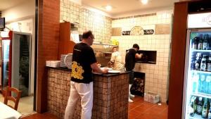 Pizzeria D&D, Valerio Di Bratto al pass
