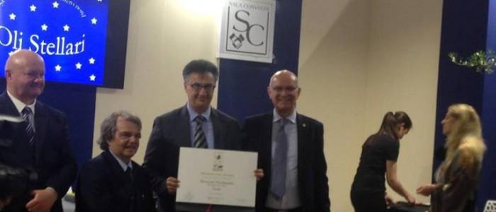 Sol d'Oro 2018, Nicolangelo Marsicani riceve il premio per Viride Bio