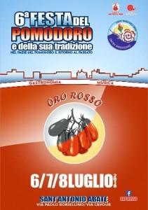 Oro Rosso, sesta edizione della Festa del Pomodoro e della sua tradizione