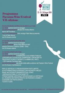 Paestum Wine Festival, la VII Edizione