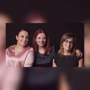 da sinistra Maria Pepe, Nunzia Gargano e Barbara Ruggiero