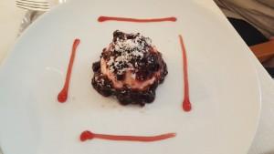 Le Colonne, Mozzarella Cake