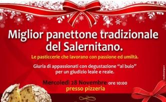 Degustazione di panettoni alla pizzeria L'Oro di Napoli a Montecorvino Rovella