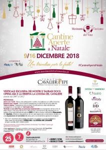 Cantine Aperte a Natale 2018 alla Tenuta Cavalier Pepe