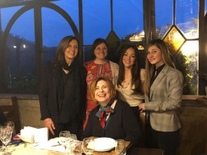 Le Donne del Vino della Campania, la nuova delegata Valentina Carputo (terza da sinistra)