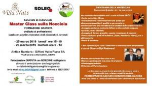 A Giffoni Valle Piana la prima Master Class sulla Nocciola in Italia