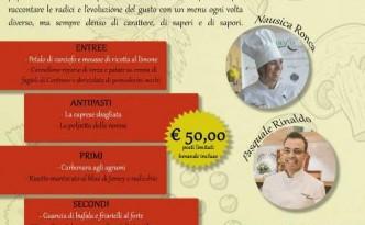 Cena a 4 mani con Nausica Ronca e Pasquale Rinaldo da Nonna Nannina
