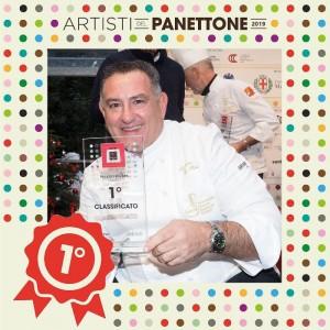 Sal De Riso, primo classificato tra gli Artisti del Panettone