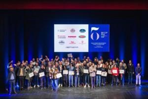 Tutti i premiati di 50 Top Italy sul palco del Teatro Eliseo di Roma - foto di Alessandra Farinelli