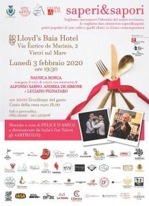 Saperi & Sapori al Loyd's Baia Hotel