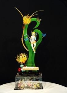 Scultura in zucchero presentata da Ilaria Castellaneta alle selezioni 2019