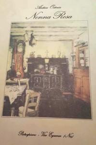 Antica Osteria Nonna Rosa, il menu