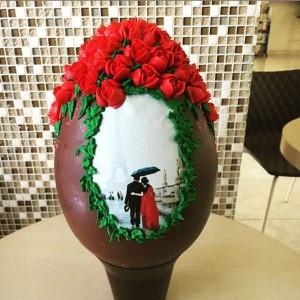 Pasticceria Mamma Grazia, uovo di Pasqua decorato