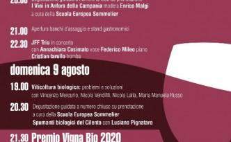 il Festival della Dieta Mediterranea con il Premio Vigna Bio