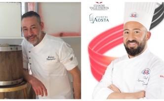 Gli chef Giuliano Donatantonio e Ignazio Gambacorta