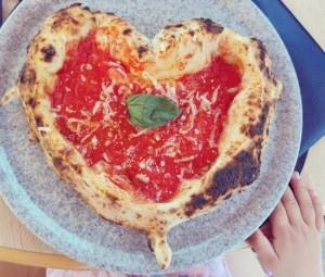 Da Salvatore, pizza a cuore